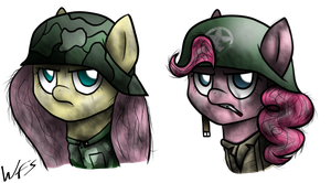 Mares of War by FluttzKrieg