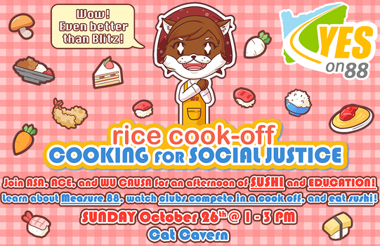 Cooking for Social Justice by MidnightSukioma