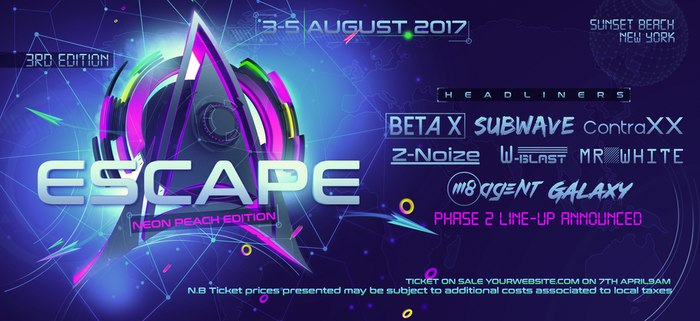 EDM Web Banner by stormclub