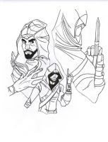 Assassin's Creed by pearlwoodguardian