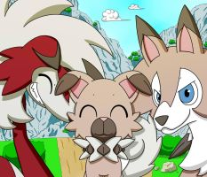 Family of Rockruff