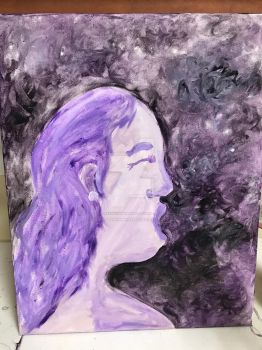 Purple Woman by JustKeepSwimminNemo
