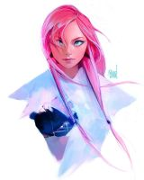 Portrait :D by rossdraws