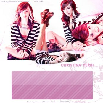Christina Perri WebLay by wondeerwall