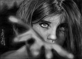 pencil drawing by mathio91
