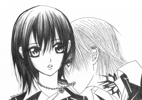 vampire knight yuki and zero by mollie111