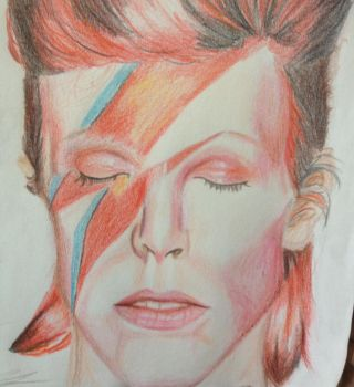 David Bowie: Aladdin Sane by AmazonPreistess