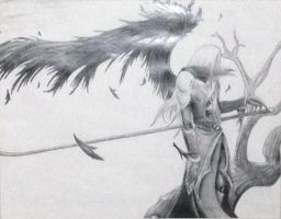 sephiroth/one winged angel by mexjackass