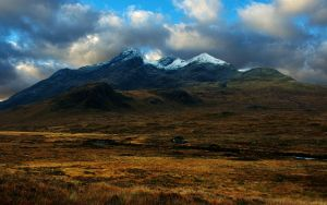 Skye, The Black Cuillin by younghappy