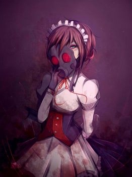 [C] Mary -Gas Mask Maid- by Likesac