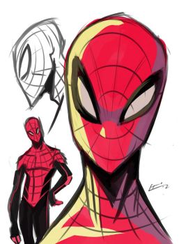 Spider-Man Design by E-Mann