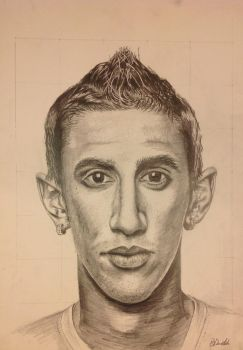 Angel Di Maria by MrDannyDanielak