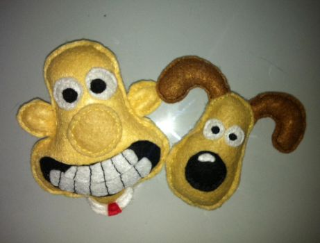 Wallace and Gromit by NecrotiKa