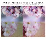 Sweet pixie Photoshop Action by lieveheersbeestje