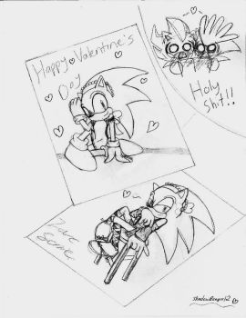 Love, Sonic by ShadowReaper12