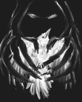 The Bird and the Darkness by firedanceryote
