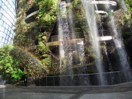 The Waterfall Garden by SolitariusWolf