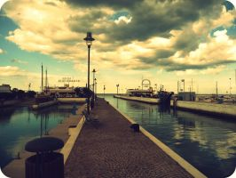 harbour italy. by yviiichen