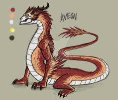 OC's - Aveon by NoctoNommer