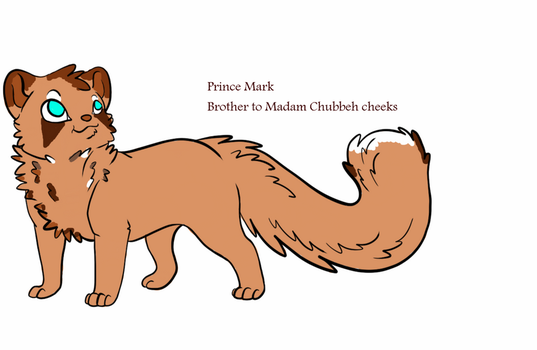 Prince Mark of the Red Panda Kingdom! by nicole765643663