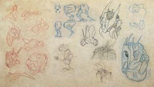 Collected Sketches 3 by ryanmalm