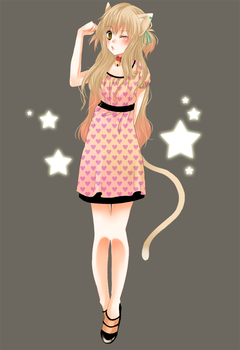 Commission: catgirl by Fuugen