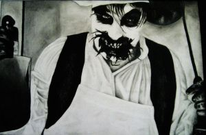 Till's Still Hungry--in Pencil by VerbotenerGott