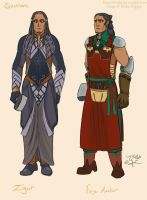 Sauron- Aule's Forge and Numenor outfits by RivkaZ