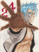 Grimmjow  Jeagerjaques by NeoAngeliqueAbyss