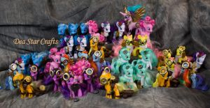 Steampunk Ponies for Everfree NW by bluepaws21