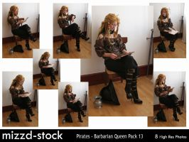 Pirates - Barbarian Queen Pack 13 by mizzd-stock
