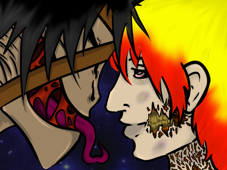 Acrid and Jim by blood-covered-devil