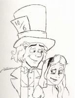 Reginald and Alice by Trumpeteer34