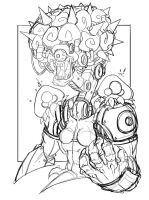 Commish 107 WIP 02 by RobDuenas