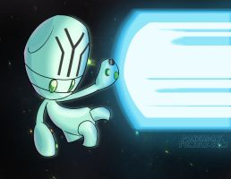 space BEAM by Pokeaday