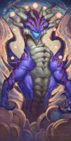 2016 Zodiac Dragons Ophiuchus by The-SixthLeafClover