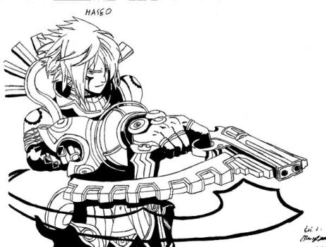 Haseo Xth Form by fulldemonnaruto