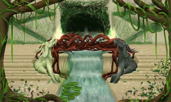 SL: Heron's Home by Diluculi