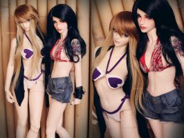 Girls of Summer by dollstars
