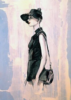 Fashion illustration Dior 2017 SS by alfadesire