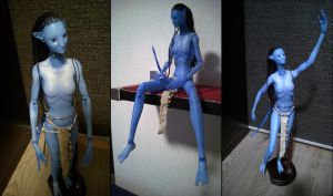 Another Neytiri figure update by Fierox