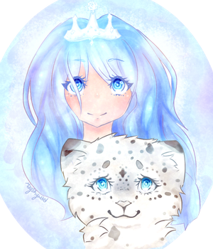 Snow Leopard Princess by May19757