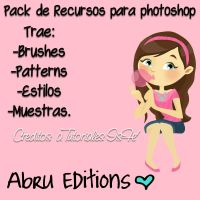 Pack de Recursos Para Photoshop by AbruTpqpEditions