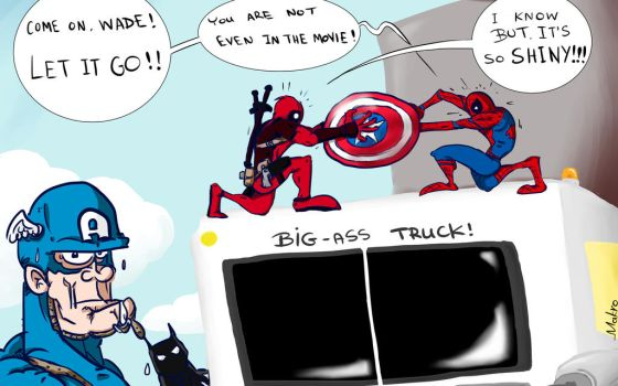 Too many superhero movies these days... by grmakro87