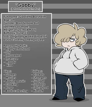 Character Profile: Gabby by Meb90