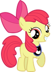 Apple Bloom - MLPVC Season 2 Poster Collab by Loaded--Dice