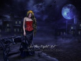 The black lady by JiaJenn31
