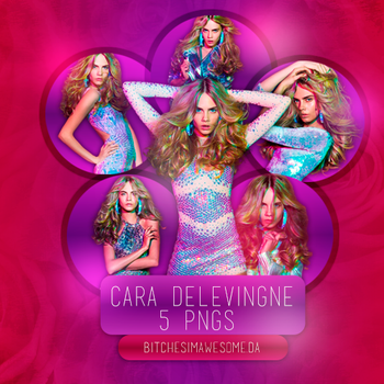 Cara Delevingne PNG Pack by BitchesImAwesome