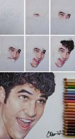 Just Darren WIP drawing by Live4ArtInLA