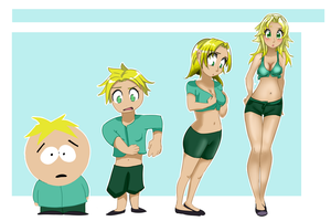 Girl #Butters 00192 by Railgun04
